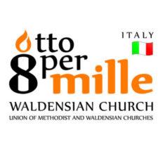 """Progetto 2017 sostenuto con i fondi Otto per Mille della Chiesa Valdese"""""""